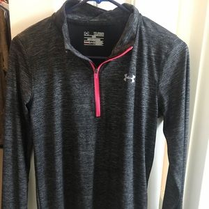 Under Armour Long-Sleeve Top w/ Thumb Holes
